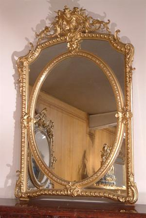 miroir style louis xv abj chemin es anciennes de france le petit monde de miss a. Black Bedroom Furniture Sets. Home Design Ideas