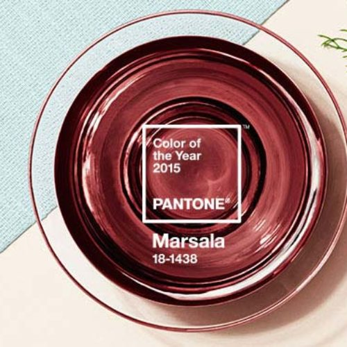 Marsala : it couleur pantone 2015